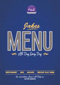Jakes Menu | Whitehouse Leisure Park