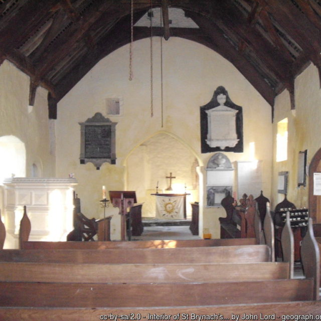 Exploring Churches near Holiday Parks in Towyn, Wales